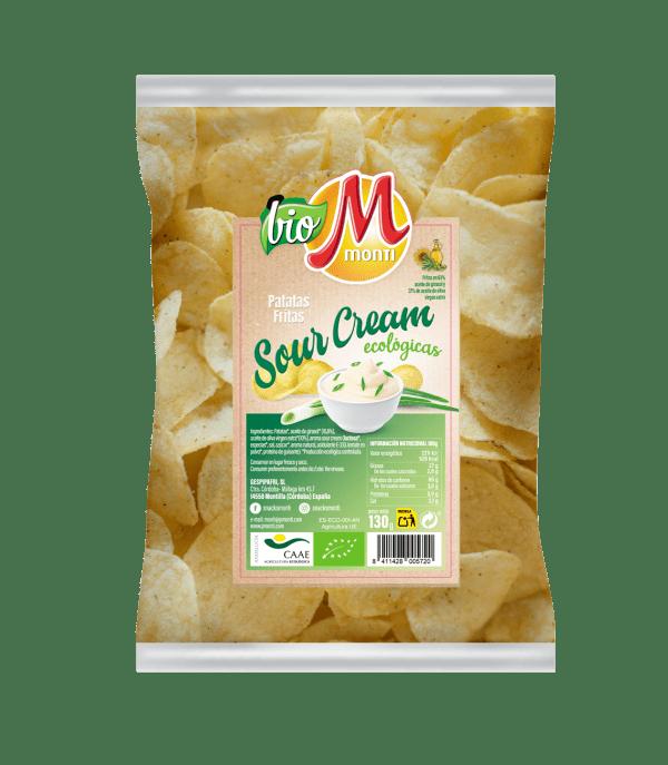 Biomonti Sabores Sour Cream Ecológicas