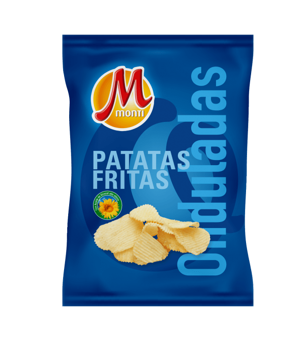 Monti Clásicas Patatas fritas Onduladas