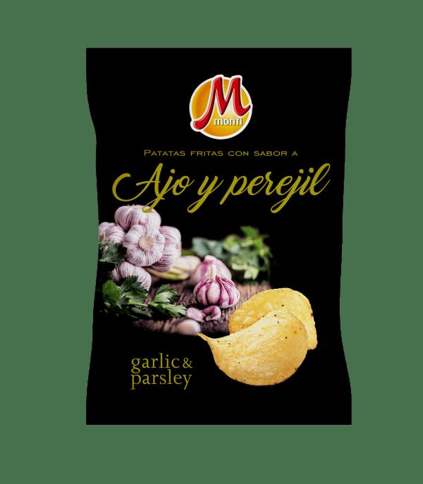 Monti Premiun Chips Ajo y Perejil