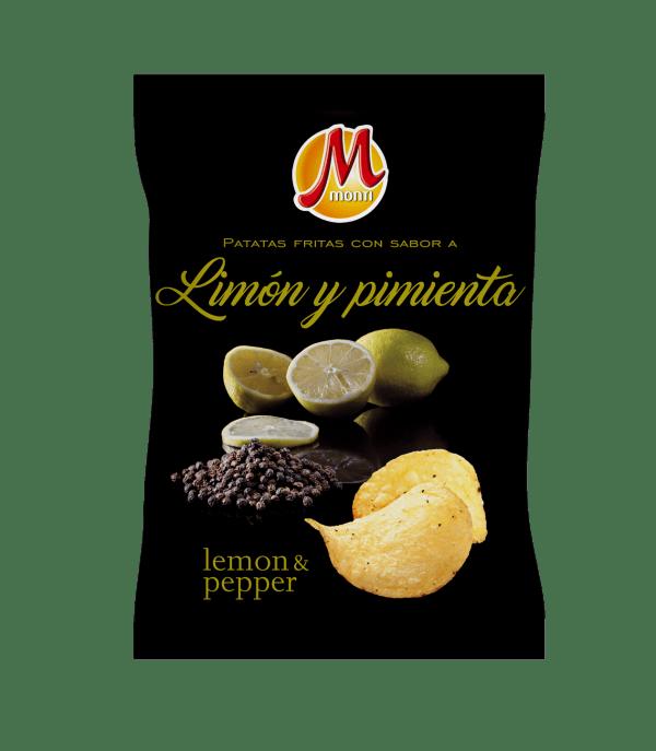 Monti Premiun Chips Limón y Pimienta